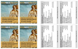 ecosexuality book press release card